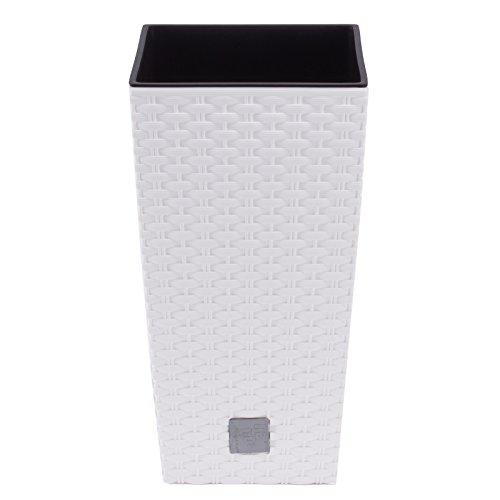 Kunststoff Pflanzkübel in Rattan-Optik von TP Products