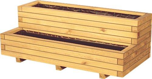 """2-Etagen Pflanzkasten """"Aster"""" aus Holz von GreenSeason"""