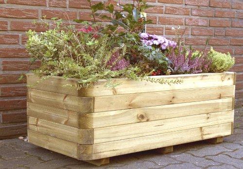 XXL Pflanzkasten aus Holz von Gartenpirat